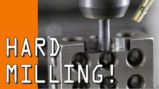 Machining 60 Rockwell Steel with the Tormach!  WW166