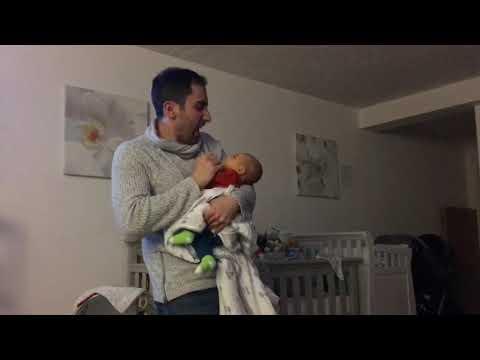 Week 6: daddy & Cameron party take 2
