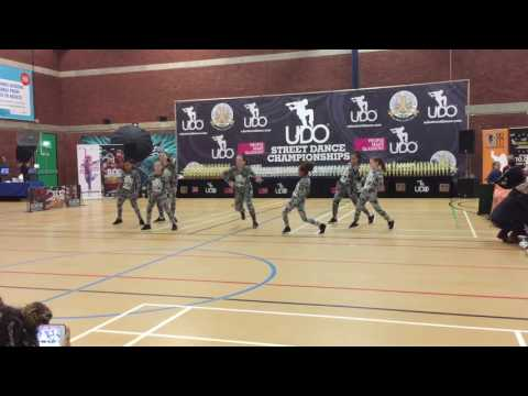 Romilly and the DFA Junior Crew at UDO Portsmouth 2016