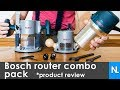 Bosch 12 Amp 2-1/4 HP Plunge and Fixed-Base Router Kit // product review