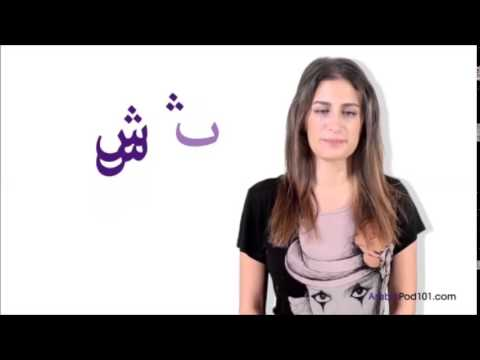 Complete Arabic Alphabet in detail
