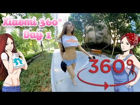 Xiaomi Mijia 360º Panorama- Day 1 Test Footage (Courtesy Banggood.com)