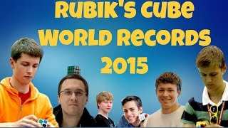 Rubik's Cube World Records [2015]