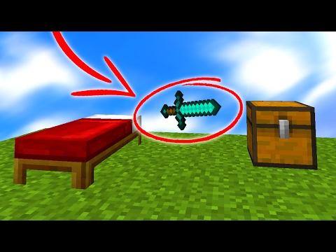 INVISIBLE CAMO TROLLING IN MINECRAFT BED WARS! (Minecraft Trolling)