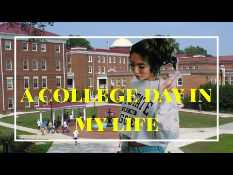a college day in my life ☆ school & greek life