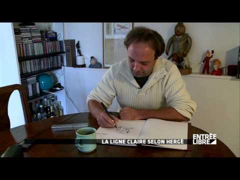 Hergé : la ligne claire - Entrée libre