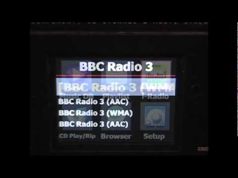 Cocktail Audio X10 i-radio (built in Internet Radio).flv