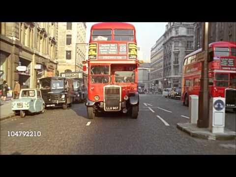 London In The 1960s - Full HD Colour - Getty-Images - Traffic - City Gents - Landmarks