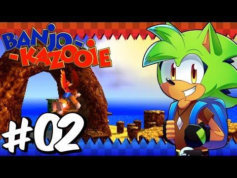 Banjo Kazooie (100% Run) | Part 2 | Treasure Trove Cove