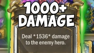 1000 Damage Hearthstone Combos!
