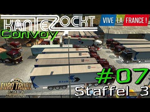 ETS2 Multiplayer Convoy S3 #07 - Amix ohne schaden [Gameplay German Deutsch]