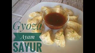 RESEP GYOZA AYAM ENAK/ gyoza dumplings / gyoza japanese/ gyoza cooking