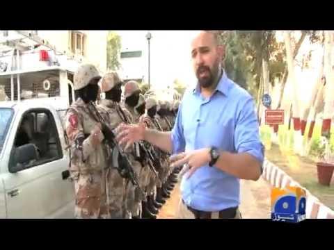 Rangers Anti Terror Squad (RATS) Karachi, Pakistan - GEO News