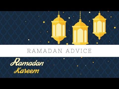 Advice for Ramadan - Shaykh Waseem Ahmed