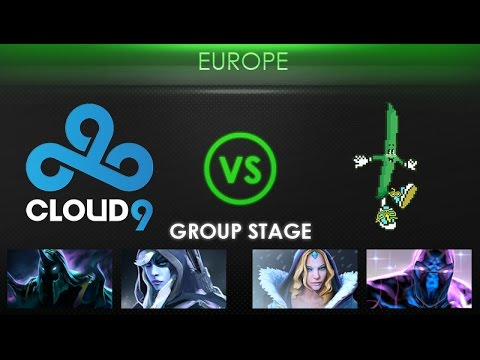 Cloud9 vs BeanBoys - Kiev Major Europe Qualifier: Group Stage - @SheeverGaming @ODPixel