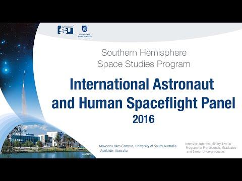 International Astronaut and Human Spaceflight Panel - SHSSP16
