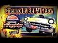 Chevrolet Bel Air 1957 - 500HP Hot Rod - Watkins Glen GP [rFactor] [WQHD]