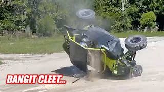 I WRECKED My Can Am X3 Turbo RR... Hurt My Machine and my Ego!!!