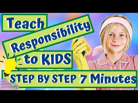 How to Teach your Child to Take Responsibility! Without Reminding!