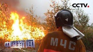 [中国新闻] 俄罗斯多地遭林火肆虐 俄国防部调派军机协助灭火 | CCTV中文国际