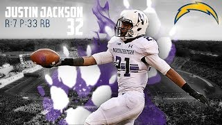 II Justin Jackson 2017 Highlights II Los Angeles Chargers 7th Round Selection