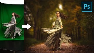 Use Green Screen to Create Composites in Photoshop!