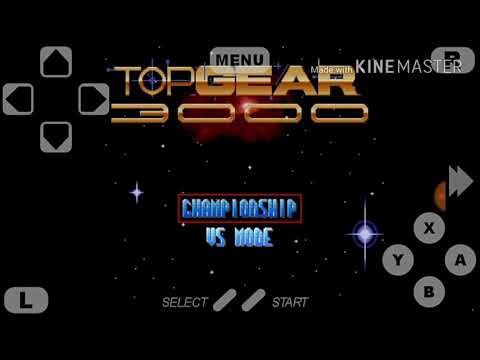 Top gear 3000 password de dinheiro snes