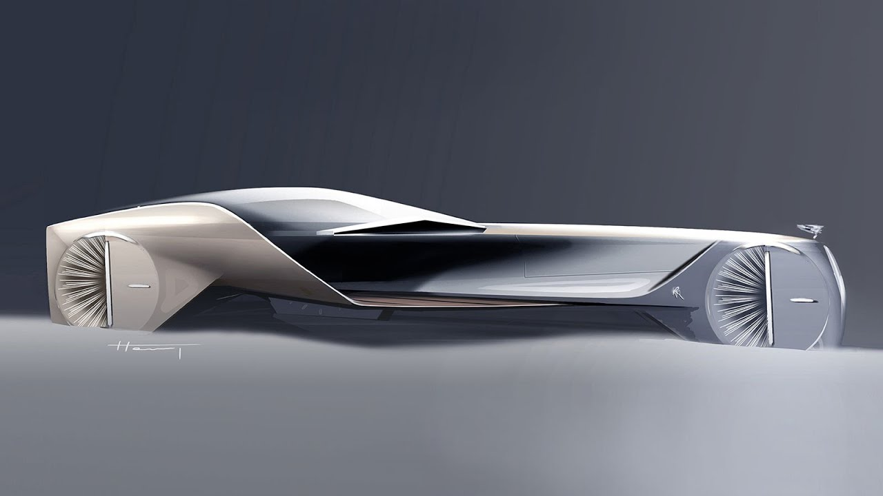 Rolls Royce Vision Next 100 Concept The Design Youtube