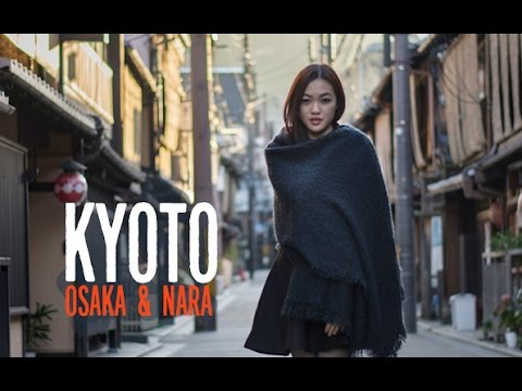Kyoto, Japan Vlog | Beautiful Kyoto, Osaka, Nara & Universal Studios | Autumn Season