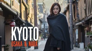 Kyoto, Japan Vlog | Beautiful Kyoto, Osaka, Nara & Universal Studios | Autumn Season(If you ever missed out on visiting Japan during the Cherry Blossom season, do not worry. During the fall it can be just as beautiful. Not only is the weather in ..., 2015-12-20T13:48:56.000Z)