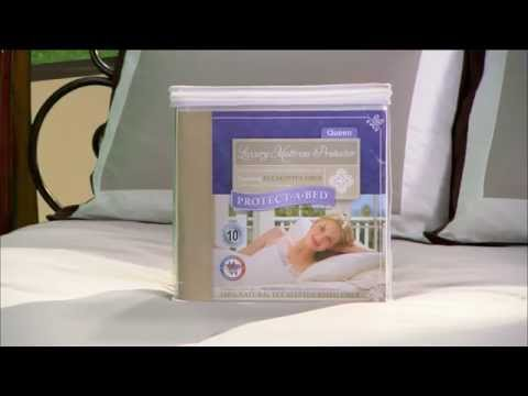 Protect-A-Bed Luxury Tencel Lyocell Mattress Pad Protector