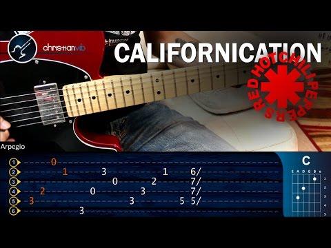 Como Tocar Californication Rhcp En Guitarra Electrica Completa