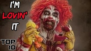 Top 10 Scary Secrets McDonald's Doesn't Want You To Know