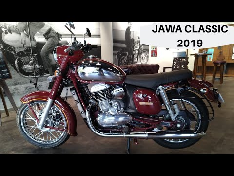 New 2019 JAWA Classic 300 (ABS) Detailed Review with Price,New Features,Mileage