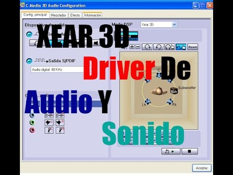XEAR 3D AUDIO WINDOWS 10 DOWNLOAD DRIVER
