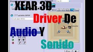 Скачать Descargar E Instalar Xear 3D Controlador De Audio Driver De Sonido