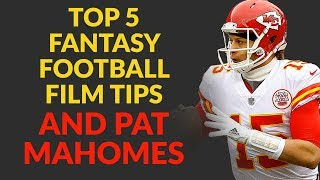 Patrick Mahomes Is Setting The Fantasy Football World On Fire & Let's Watch Some Touchdowns!!!