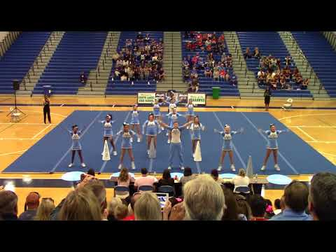 Yorktown High School at Region 6D Semi Final Cheer 2017