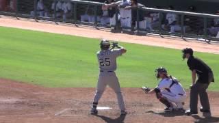 Hunter Renfroe, San Diego Padres - 2 HR (2014 AFL Game At-Bats)