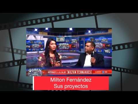 Partes de las promesas hechas por el actual Alcalde de Barahona Milton Fernández.