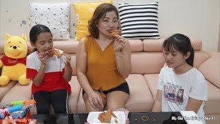 Mẹ Ghẻ Con Chồng Phần 45 - Ba Cái Cánh Gà Rang Muối - Mẹ Ghẻ Tham Ăn - MN Toys Family Vlogs