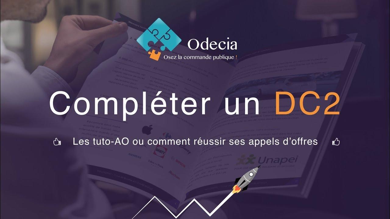 Download Compléter un DC2 - marchés publics - Déclaration du candidat individuel