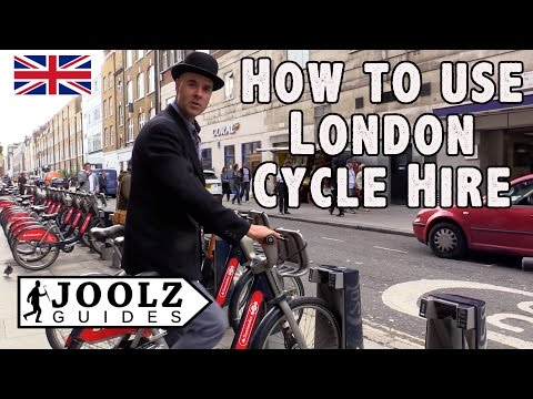 How to use TFL London Cycle Hire - Santander Cycles