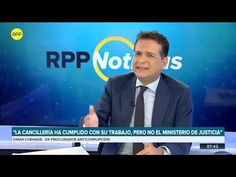 """Omar Chehade: """"Vizcarra petardea a su propio ministro de Justicia"""""""