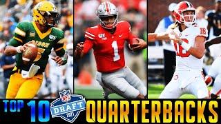 Top 10 Quarterbacks In The 2021 NFL Draft