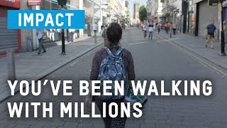 You've been walking with millions | Oxfam GB