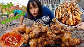 Làm Chiếc Đùi Gà Nướng Khổng lồ Giant Grilled Chicken