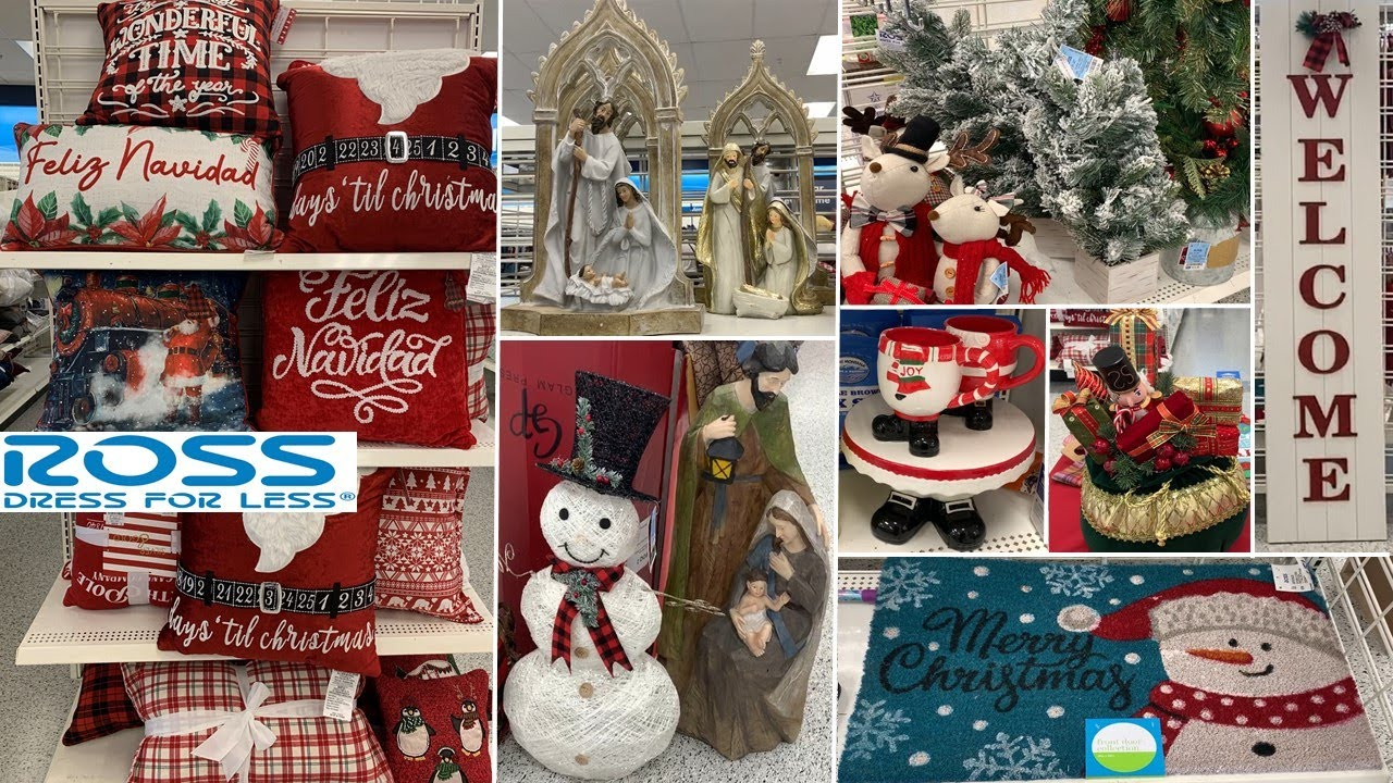 ROSS Holiday Home Decor * Christmas Table Decoration | Shop With Me 2020