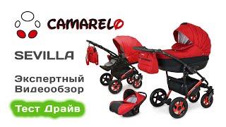 коляска Camarelo Sevilla Special 2 in 1 обзор