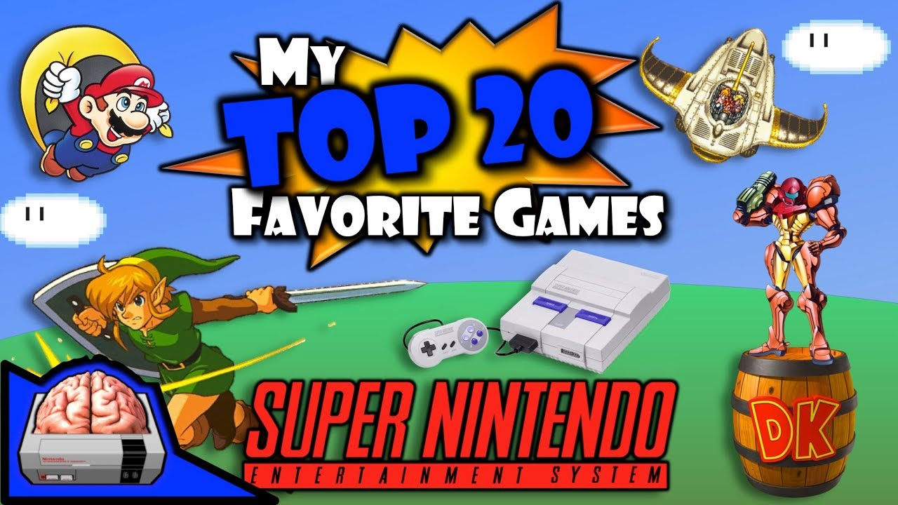 My Top 20 Super Nintendo Games (#10-1) and Honorable Mentions